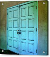 The Door To A Better Place Acrylic Print