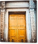 The Doors Of Cls Acrylic Print