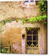 The Doorway To Provence Acrylic Print