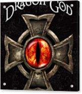 The Dragon God Acrylic Print