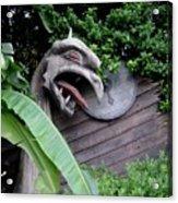 The Dragon In The Garden Acrylic Print