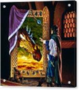 The Dragon Mirror Acrylic Print