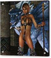 The Dragon Princess Acrylic Print