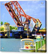 The Drawbridge Acrylic Print
