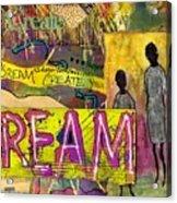The Dream Trio Acrylic Print