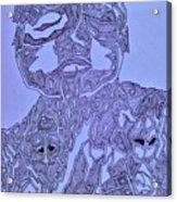 The Dreaming Man Acrylic Print