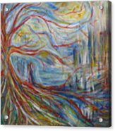The Dreaming Tree Acrylic Print by Made by Marley