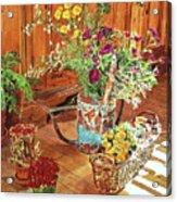 The Dried Flower Shop Acrylic Print