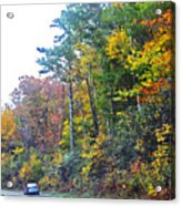 The Drive To See Grandfather Acrylic Print