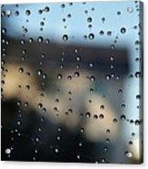 The Droplet Curtain Acrylic Print