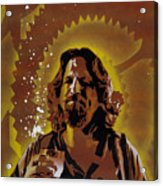 The Dude Acrylic Print by Tai Taeoalii