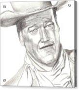 The Duke Acrylic Print