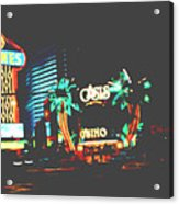 The Dunes Casino Acrylic Print