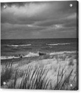 The Dunes In Winter Acrylic Print