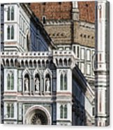 The Duomo Detail Acrylic Print