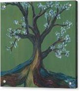 The E Tree Acrylic Print