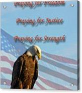 The Eagles Prayer Acrylic Print