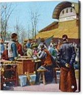 The East Market, Peking, Ca 1921 Acrylic Print