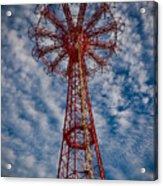 The Eiffel Tower Of Brooklyn Acrylic Print