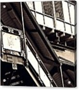 The Elevated Station At 125th Street 2 Acrylic Print
