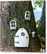 The Elf House Acrylic Print