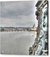 the embankment Praha Acrylic Print