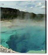The Emerald Pool Colors Acrylic Print
