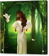 The Emotion Of The Angel Acrylic Print