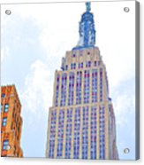 The Empire State Building 2 Acrylic Print