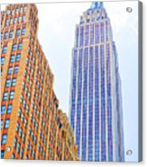 The Empire State Building 4 Acrylic Print