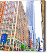 The Empire State Building 5 Acrylic Print