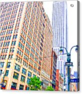 The Empire State Building 6 Acrylic Print