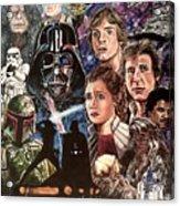 The Empire Strikes Back Acrylic Print