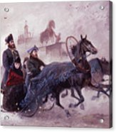 The Empress Maria Fjodorovna Acrylic Print