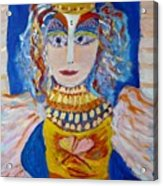 The Empressa  Of Hearts Angel Of Grace Beauty And Devotion Acrylic Print