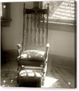 The Empty Chair Acrylic Print
