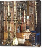 The Empty Tomb Of Christ Acrylic Print