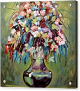 The Empty Vase Acrylic Print