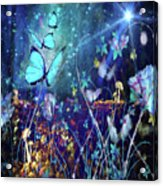 The Enchanted Garden Acrylic Print