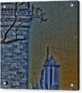 The Encroachment Upon Art Acrylic Print