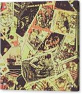 The English Postage Scene Acrylic Print