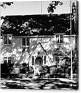 The English Tutor House Acrylic Print