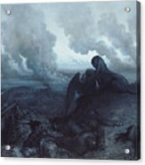 The Enigma Acrylic Print by Gustave Dore