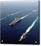 The Enterprise Carrier Strike Group Acrylic Print