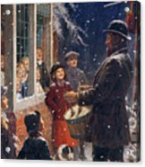 The Entertainer  Acrylic Print by Percy Tarrant