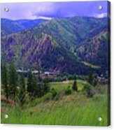 The Entiat Valley  Acrylic Print