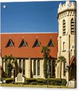 The Episcopal Church Of Fernandina Beach Acrylic Print
