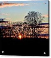 The Evening Sky Acrylic Print