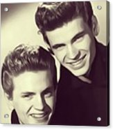 The Everly Brothers Acrylic Print