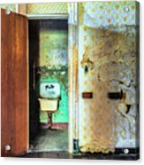The Executive Washroom Acrylic Print